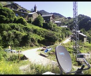 Instalación de Eutelsat