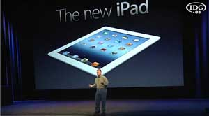 Apple lanza el iPad 3