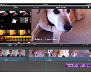 iMovie iPad 2