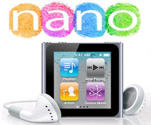 Actualización de software iPod nano 6G