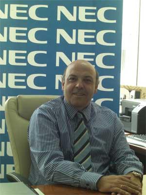 Jaime Serrano, director general de NEC Ibérica