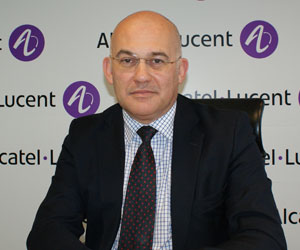 Jean Clovis Pichon, director general de Alcatel-Lucent