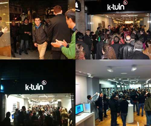 K-tuin inaugura su nueva tienda Apple en Barcelona