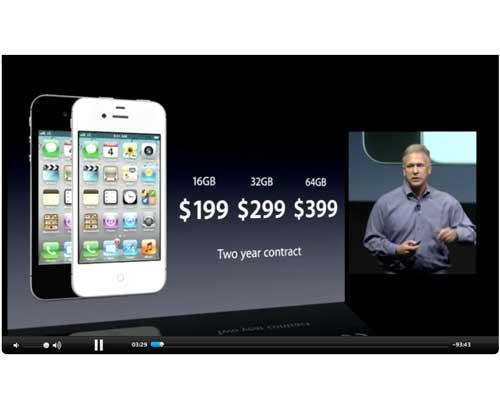 Keynote iPhone 4S