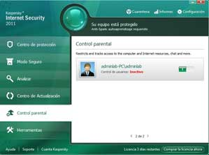 kaspersky internet security 2011