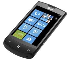 LG apoya el anuncio de Windows Phone 7