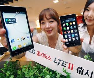 LG Optimus II LTE smartphone