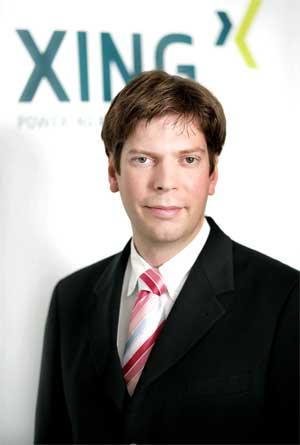 Lars Hinrichs, fundador y CEO de Xing
