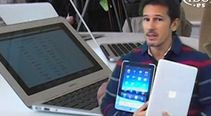 MacBook Air 11 pulgadas frente al iPad