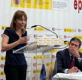 María Garaña, en el Foro Sociedad en Red.