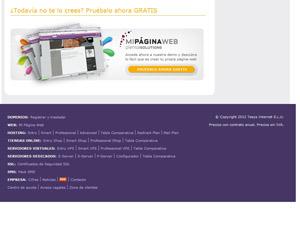 mi página web