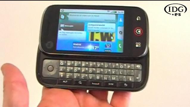 Motorola Dext con Android