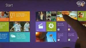 MWC 2012: Windows 8 muestra su nueva interfaz