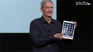 Apple presenta el iPad Air 2 y iPad Mini 3, m�s finos y r�pidos