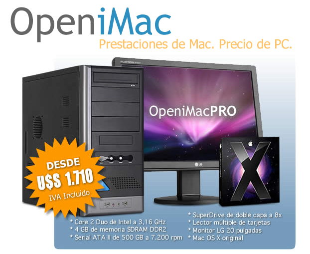 Clónicos OpeniMac