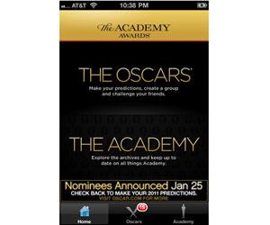 Aplicación Oficial de los Oscar 2011 para iPhone