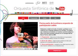 Orquesta Sinfonica de YouTube