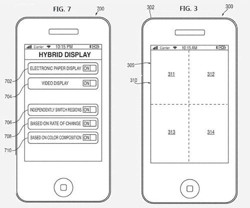 iPhone LCD tinta electrónica eBook