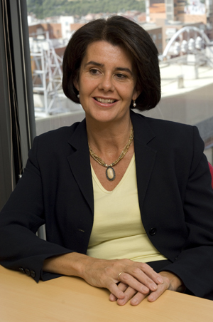 Paz Martos, directora general de Avaya Iberia