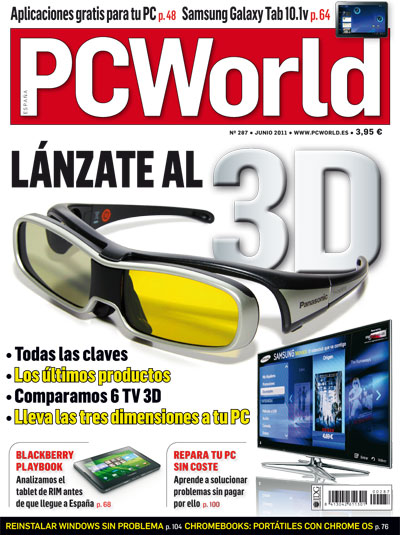 portada pc world españa 287 junio 2011