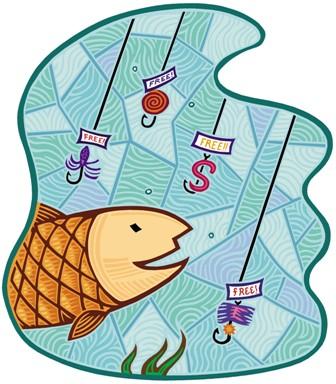 phishing pez pesca fraude