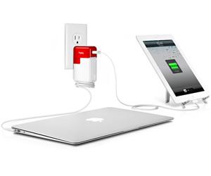 Carga un Macbook y un iPad o iPhone a la vez con PlugBug