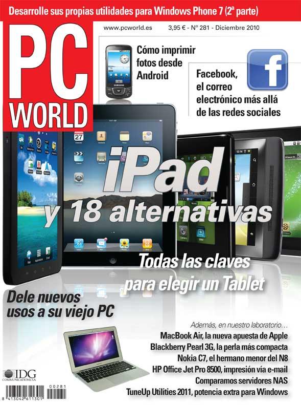 portada PC World diciembre 2010 número 281