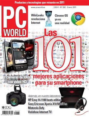Portada PC World 282 enero 2011