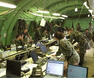Centro de mando. Ministerio de Defensa