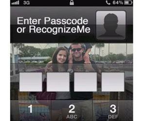 RecognizeMe iPhone reconocimiento facial cara
