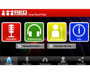 Canta cuando y donde quieras con la aplicación Red Karaoke para iPhone, iPad o iPod toucjh