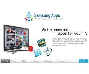 Samsung alcanza un millón de descargas de aplicaciones para TV
