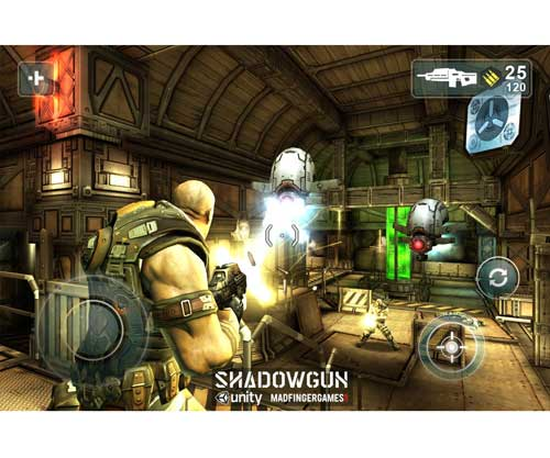 Shadowgun iOS Gears of Wars acción 3D