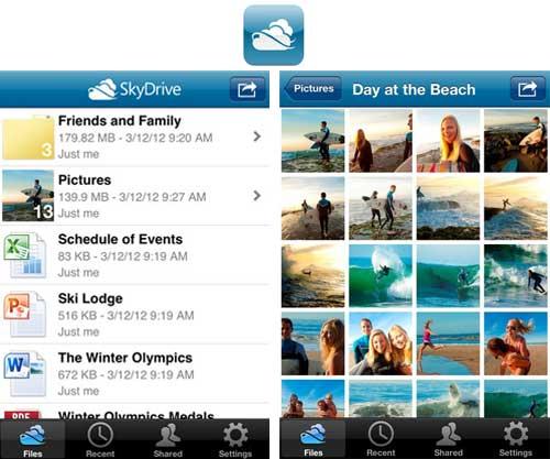 Microsoft lanza la aplicación SkyDrive para Mac y actualiza SkyDrive para iOS