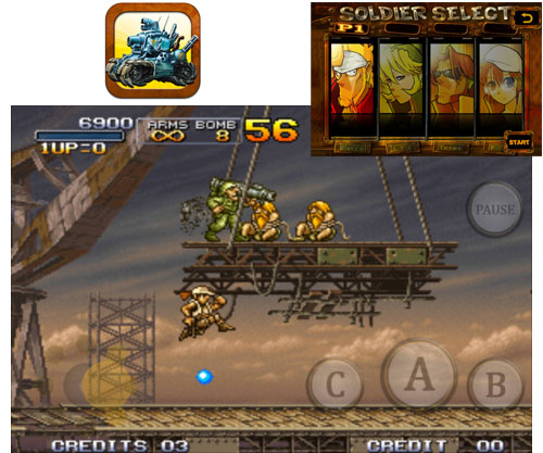 SNK lanza el mítico Metal Slug 3 para iPhone, iPad y iPod touch