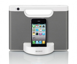 Sistema de sonido Sony iPod iPhone