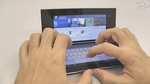 Sony Tablet P. Probamos el tablet plegable