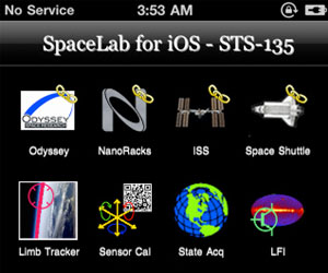 SpaceLab App iOS Apple