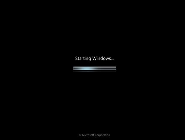 Arranque Windows 7