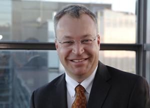 Stephen Elop CEO de Nokia