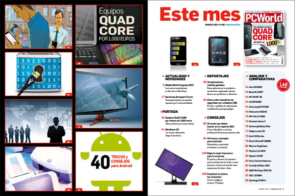 Sumario PC World Marzo 2012