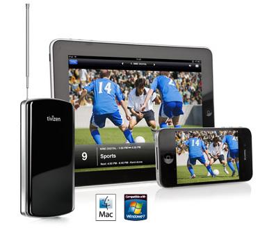 Tivizen iPad iPhone TV