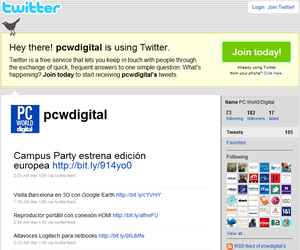 Twitter PC World Digital