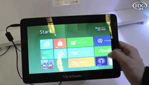 MWC 2012: ViewSonic muestra Windows 8 en su tablet ViewPad