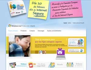 Web protegeatushijos.com