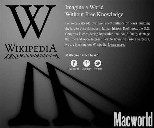 Manifestaciones contra las leyes SOPA y PIPA
