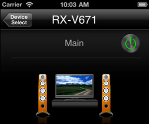 Yamaha AV Controller iPad iPhone iPod touch