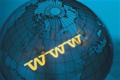 Internet, Web, distribución