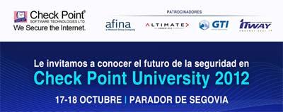 Check Point University seguridad