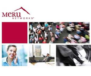 Meru Networks programa canal